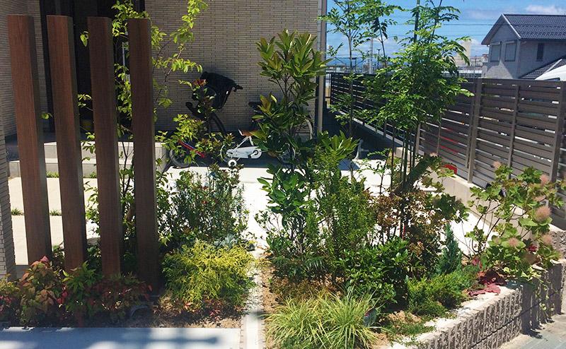 ガーデンリフォーム(植栽)